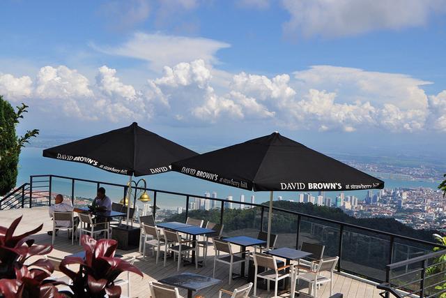 هضبة بينانج من افضل اماكن سياحية في بينانج ماليزيا