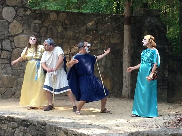 المسرح الروماني في مدينة ملقا الاسبانية
