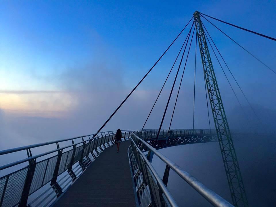 جسر لانكاوي سكاي في جزيرة لنكاوي