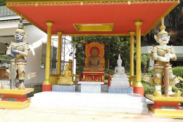 معبد كهف النمر في جزيرة كرابي