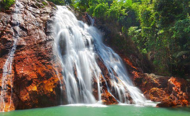 شلالات كوساموي تايلاند