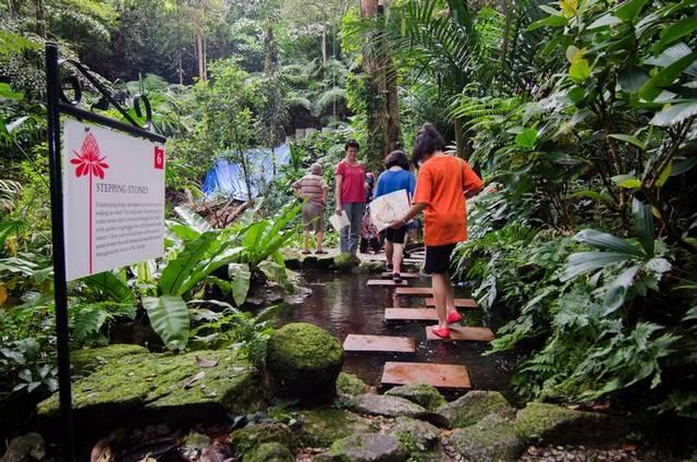 حديقة التوابل بينانج ماليزيا