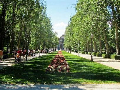 حديقة ريتيرو في مدريد اسبانيا