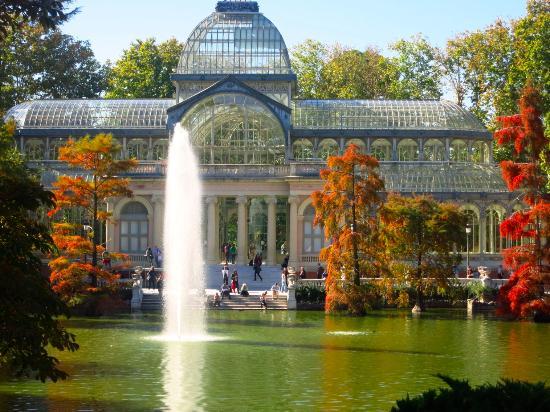 حديقة ريتيرو من اجمل حدائق اسبانيا مدريد