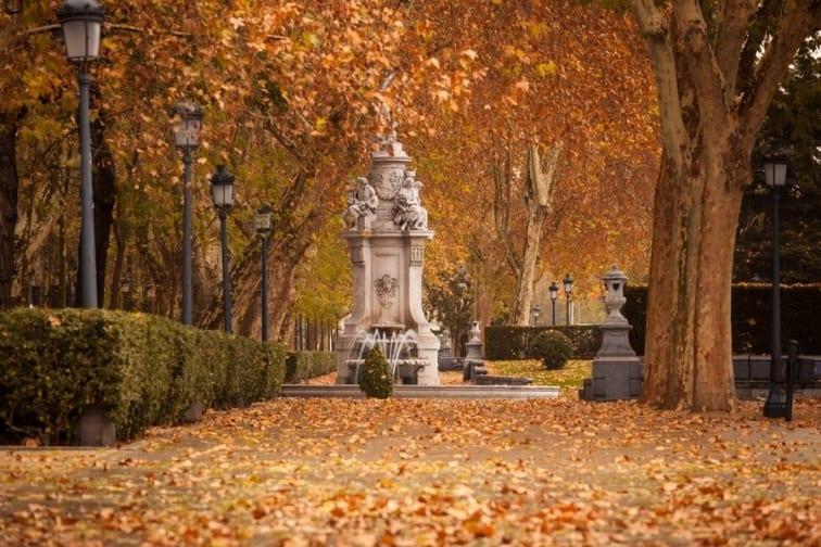 حديقة ريتيرو مدريد في اسبانيا