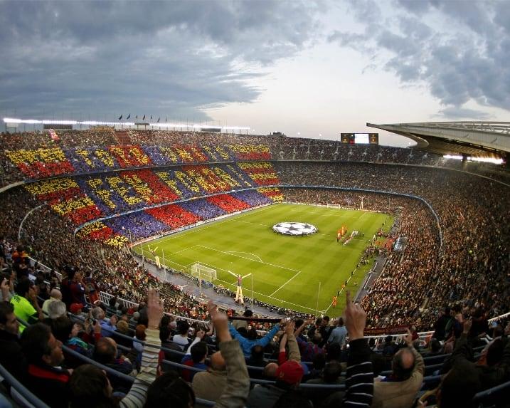 ملعب الكامب نو اسبانيا برشلونة