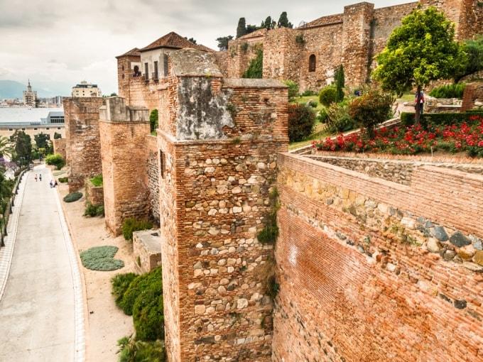 قلعة جبل المنارة مالقا