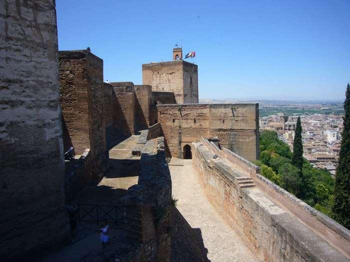 قلعة جبل المنارة ملقا اسبانيا