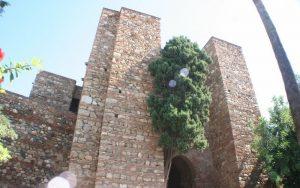 قلعة جبل المنارة في مدينة ملقا اسبانيا