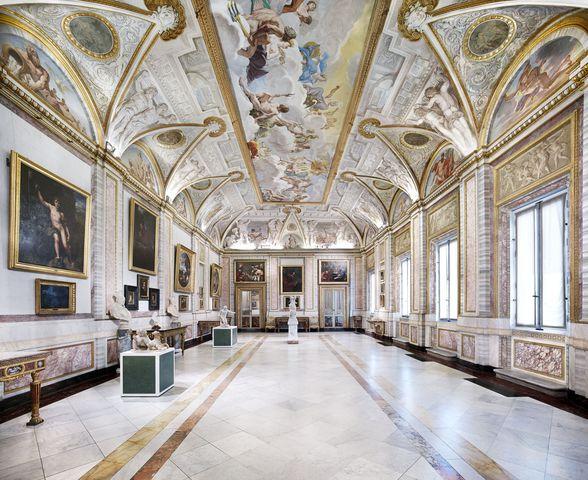 متحف بورغيزي في روما ايطاليا