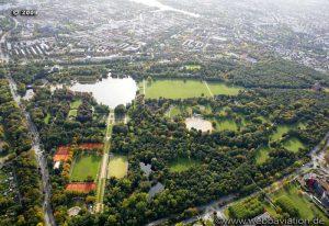 حديقة سيتي بارك في هامبورغ المانيا