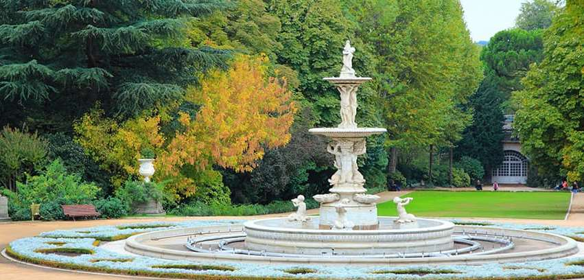 حدائق ساباتيني في مدريد اسبانيا