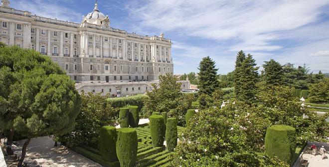 حدائق ساباتيني في مدريد - منطقة مدريد