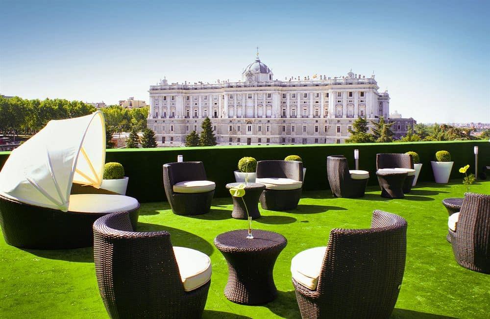 حدائق ساباتيني في اسبانيا مدريد