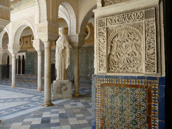 قصر كاسا دي بيلاتوس اسبانيا اشبيلية