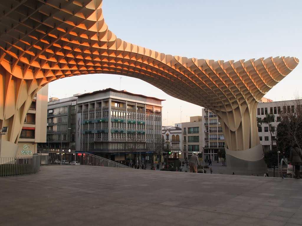متروبول الشمسية الملونة اشبيلية اسبانيا