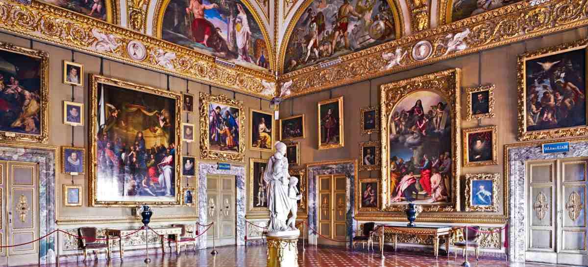 قصر بيتي من اجمل اماكن السياحة في فلورنسا
