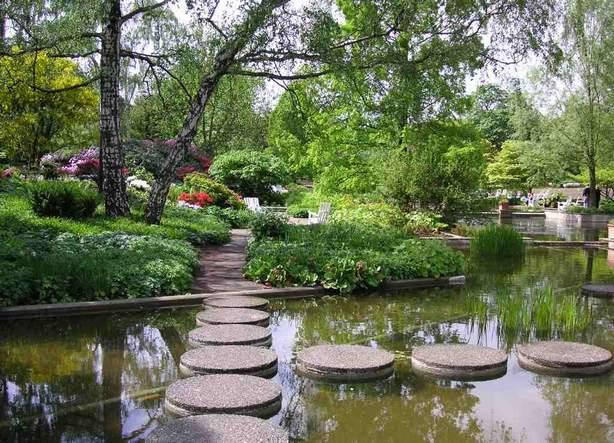 منتزه بلانتن اون بلومن في هامبورغ