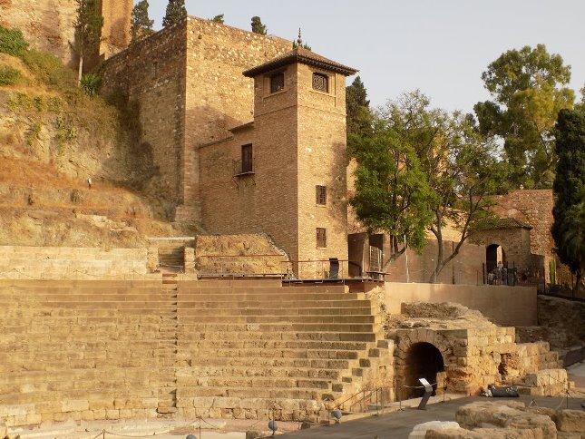 قلعة القصبة، مالقا