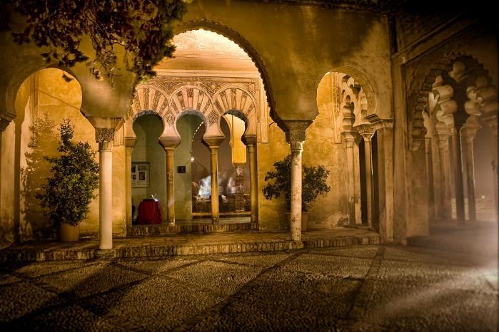قصبة ملقا من اجمل الاماكن السياحية في اسبانيا