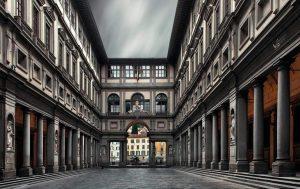 متحف أوفيزي غاليري في فلورنسا ايطاليا