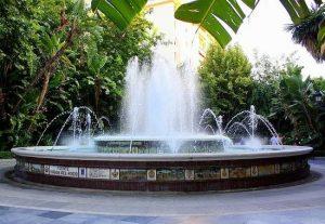 حديقة ألاميدا في مدينة ماربيا اسبانيا