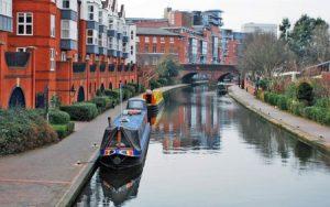 مدينة القوارب في مدينة برمنجهام بريطانيا