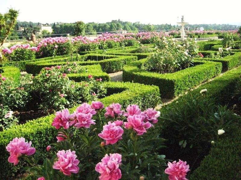 حدائق بوبولي فلورنسا ايطاليا