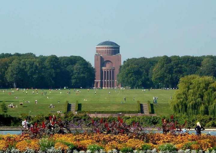 حديقة سيتي بارك هامبورغ المانيا