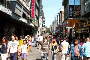 شارع هوخ ستراسه كولون المانيا يعد من اكثر شوارع السياحة في كولون شهرةً
