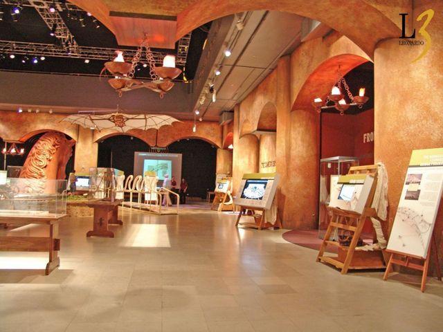 متحف ليوناردو دافنشي في ميلان ايطاليا