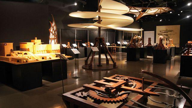 متحف ليوناردو دافنشي في ايطاليا ميلان