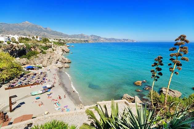 شاطئ ماربيا اسبانيا