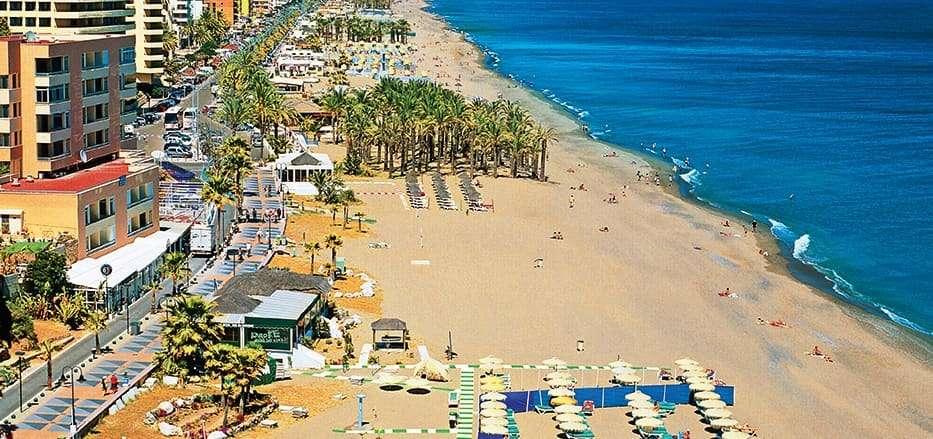 شاطئ ماربيا في اسبانيا