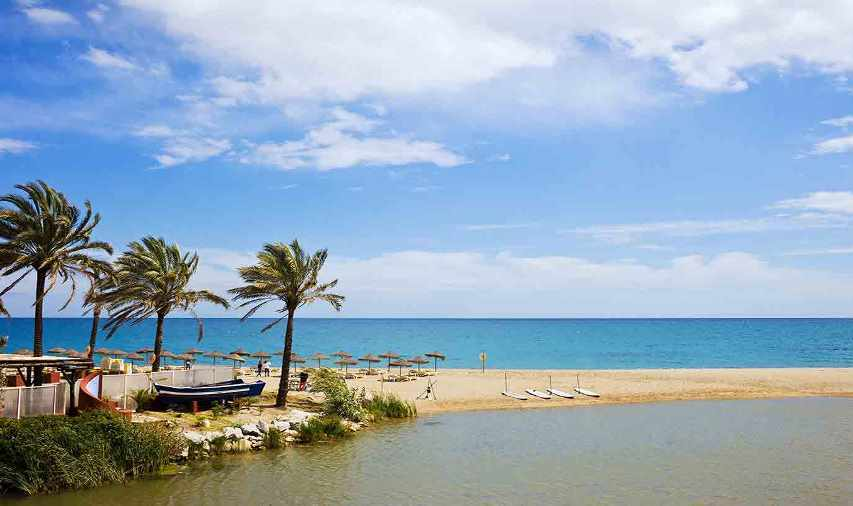 شاطئ ماربيلا اسبانيا