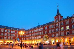 ساحة بلازا مايور مدريد اسبانيا