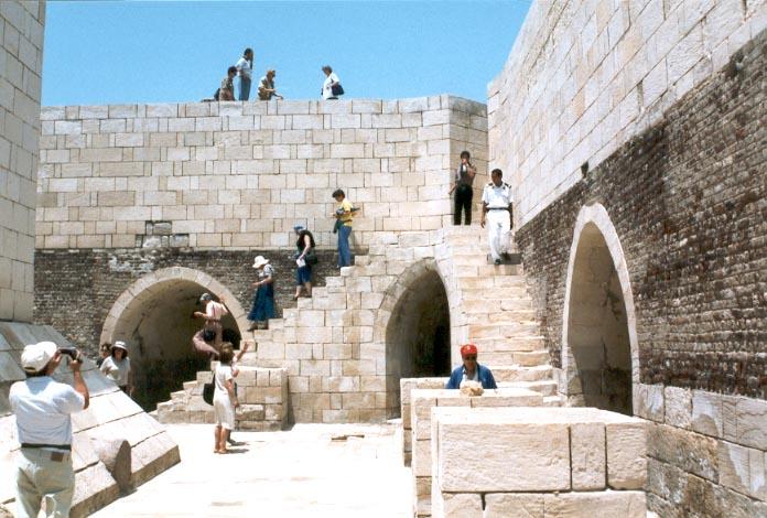 قلعة قايتباي في الاسكندرية مصر