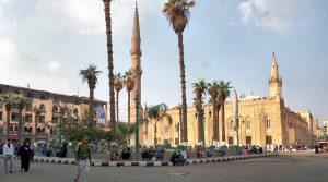 مسجد الإمام الحسين من اهم معالم القاهرة مصر