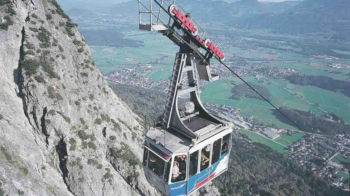 تلفريك جبل انترسبيرغ في سالزبورغ