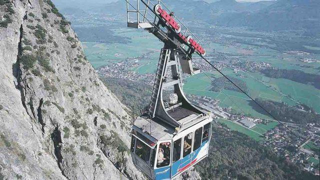 تلفريك جبل انترسبيرغ سالزبورغ