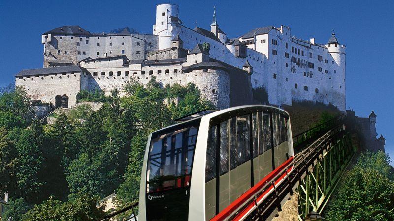 قلعة هوهن في سالزبورغ النمسا