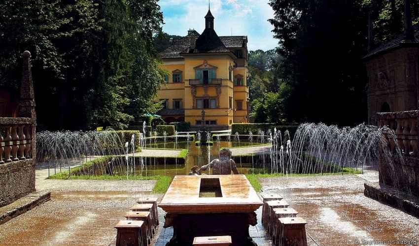 قصر هيلبرون سالزبورغ النمسا