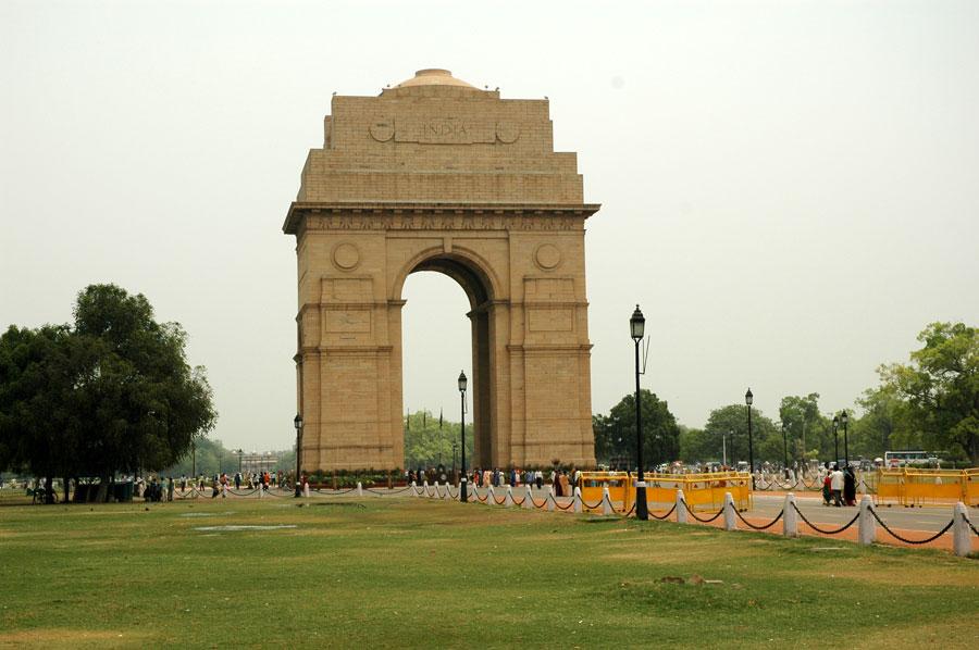 بوابة الهند من اهم اماكن السياحة في نيودلهي