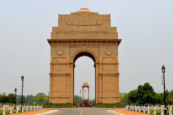 بوابة الهند من اهم الاماكن السياحية في نيودلهي