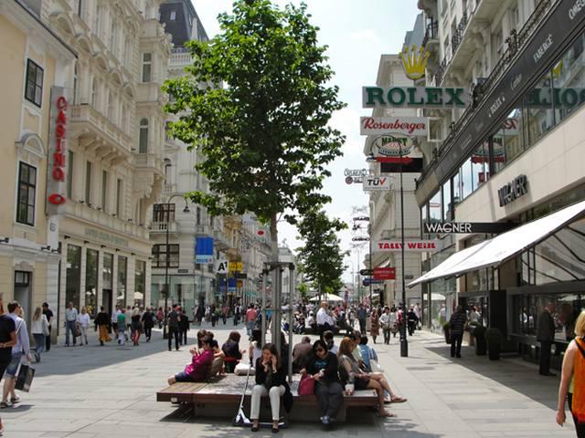 شارع كارنتنر من افضل اماكن السياحة في فيينا