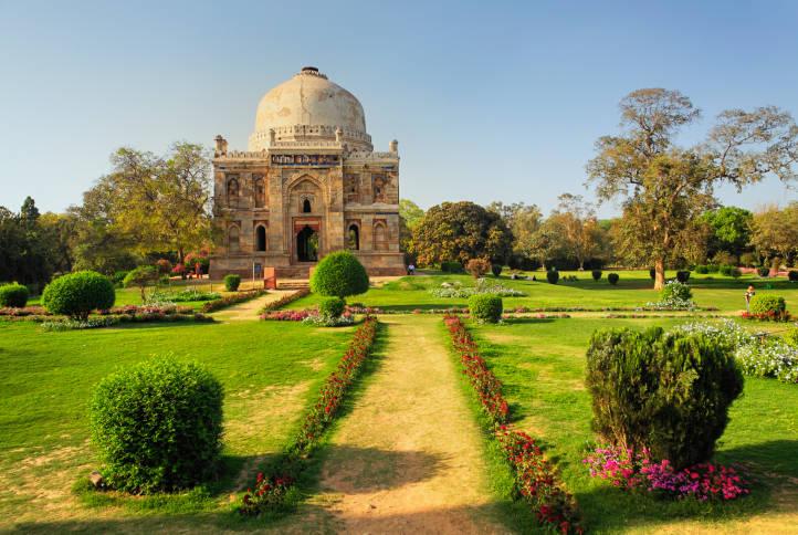 الاماكن السياحية في نيودلهي حدائق لودي