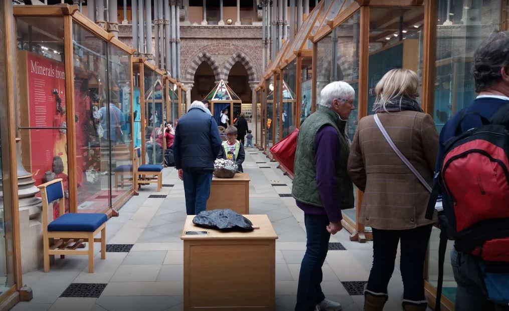 متحف اكسفورد للتاريخ الطبيعي في مدينة اكسفورد
