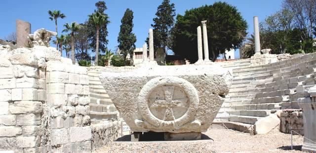 المسرح الروماني في مصر الاسكندرية