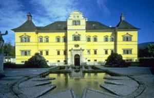 قصر هيلبرون من اجمل اماكن السياحة في النمسا سالزبورغ