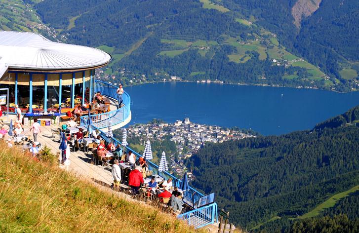 جبل شميتن هوه في مدينة زيلامسي النمسا